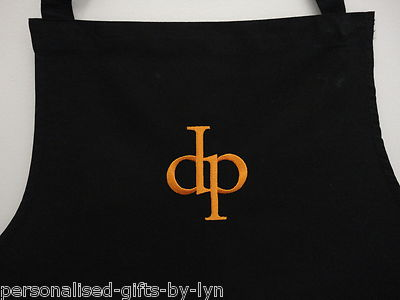 PERSONALISED APRON - Black or White Apron