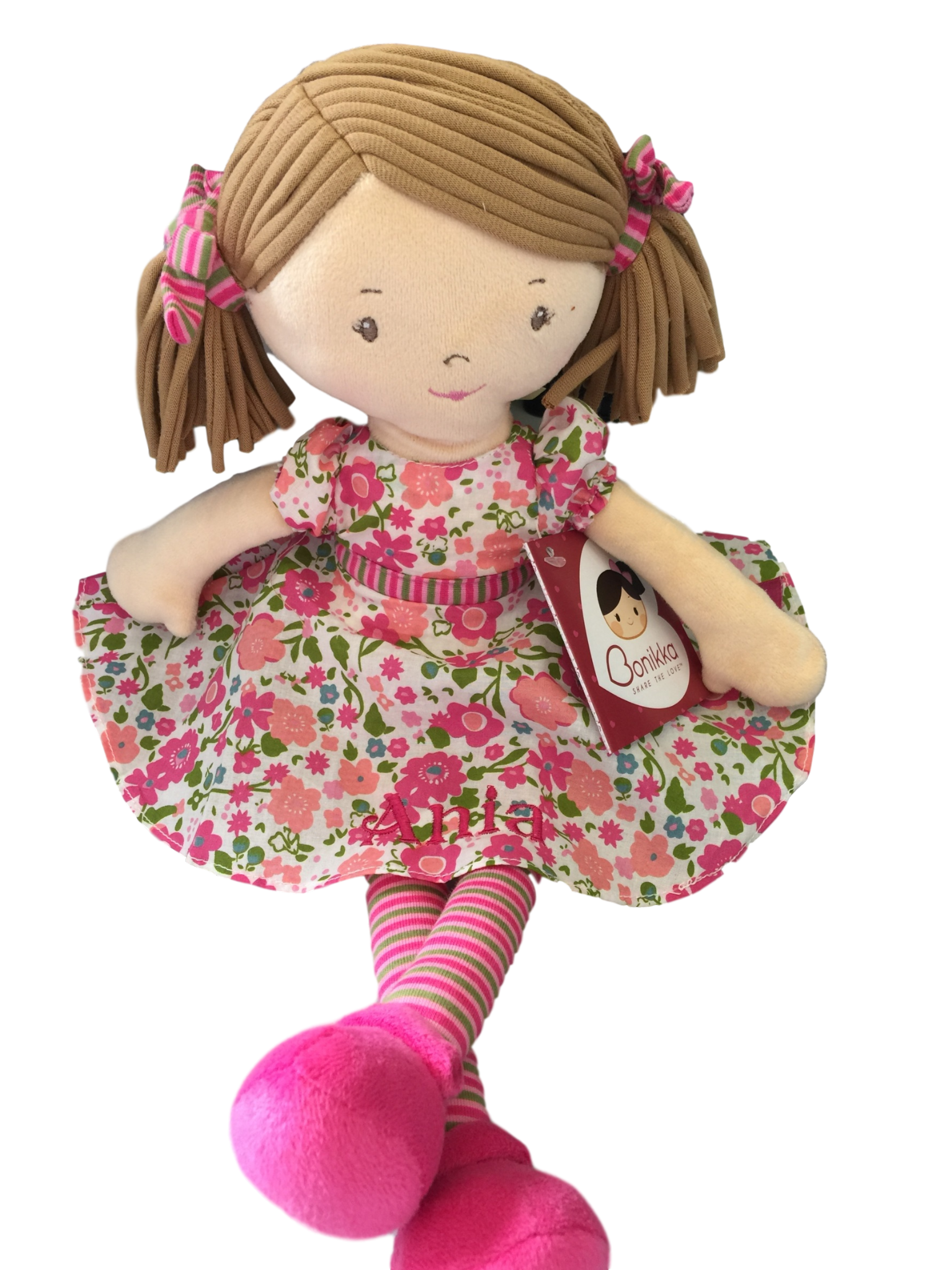 Personalised Rag Doll Katy Suitable From Birth